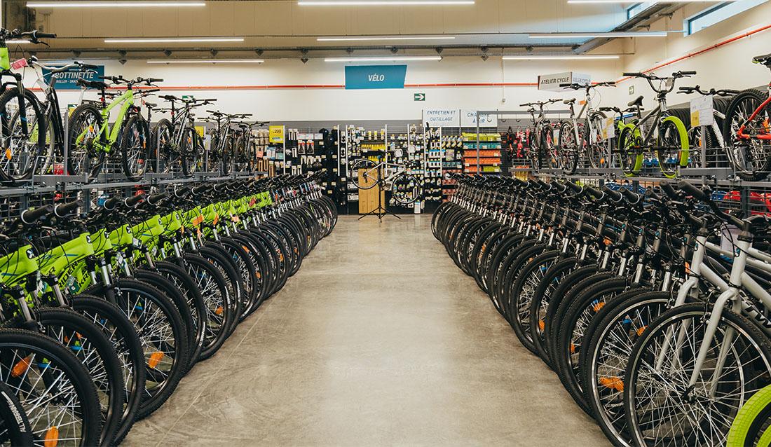 vélo, bike, decathlon
