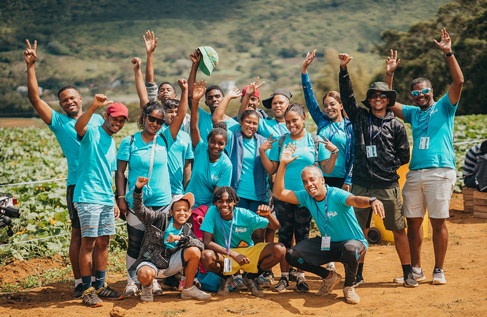 bénévole, volunteer, moka trail, trail in mauritius